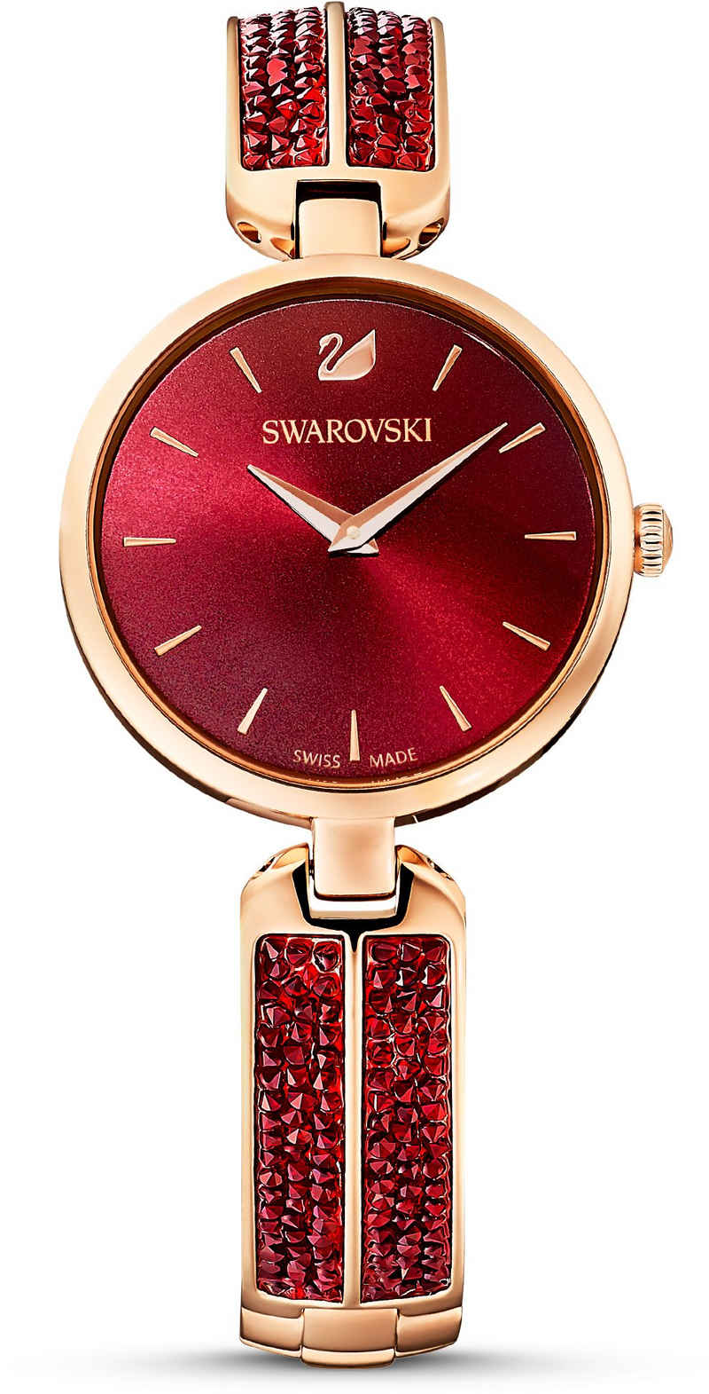 Swarovski Schweizer Uhr »CRYSTAL ROCK, 5519312«