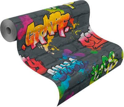 Rasch Papiertapete »Kids & Teens III«, glatt, gemustert, (1 St)