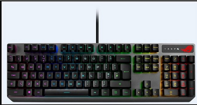 Asus Gaming Tastatur, USB Tastatur ROG Strix Scope RX