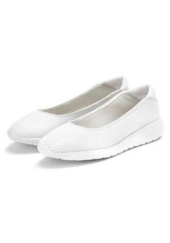 LASCANA Ballerina Sneaker Slip-In in superleic...