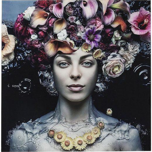 KARE Dekoobjekt »FLOWER ART LADY«