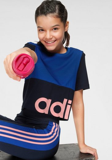 adidas Performance T-Shirt »YOUTH GIRL LINEAR CELEBRATE TEE«