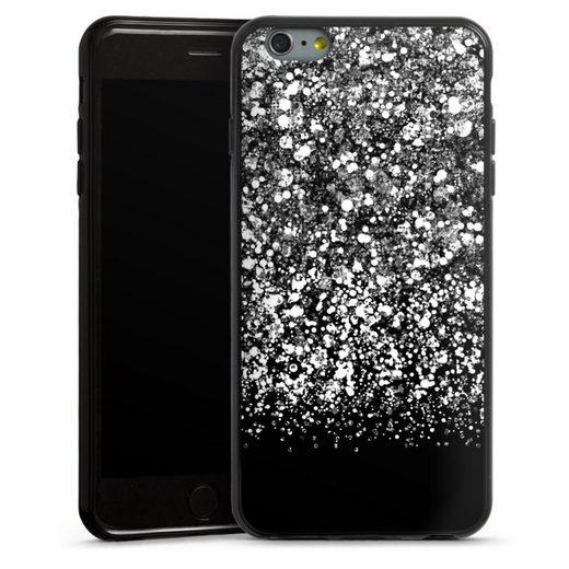 DeinDesign Handyhülle »Snow Fall Glitter Look« Apple iPhone 6 Plus, Hülle Glitzer Look Schneeflocken Muster