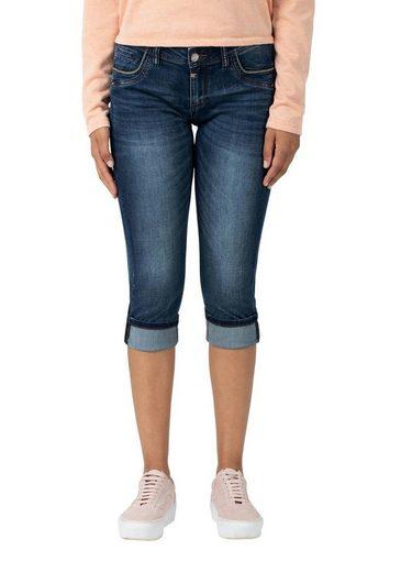 TIMEZONE Slim-fit-Jeans »Slim TaliTZ 3/4« Jeanshose mit Stretchanteil