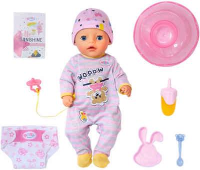 Baby Born Babypuppe »Soft Touch Little Girl, 36 cm«, mit lebensechten Funktionen
