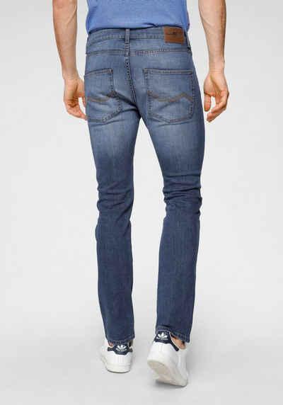 Rhode Island 5-Pocket-Jeans »Quinn« mit Logobadge