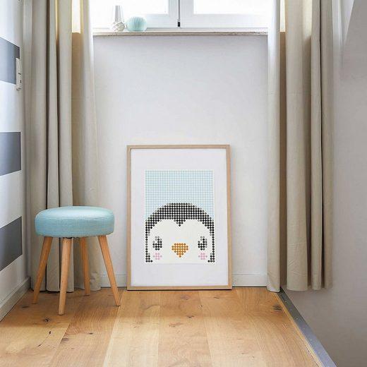 Dot On Malvorlage »dot on art kids - pinguin, 30 x 40 cm«