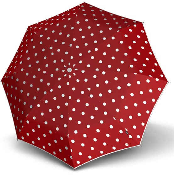 Knirps® Taschenregenschirm »T.200 Medium Duomatic, Dot Art Red«