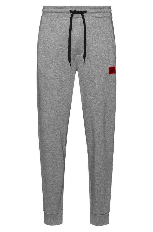 HUGO Loungehose »Herren Hose lang - Doak212, Jogginghose, Logo,«