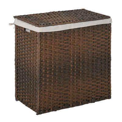 HOMCOM Wäschekorb »Wäschekorb platzsparend zusammenklappbar«