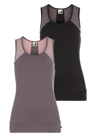 Ocean Sportswear Funktionstop »Soulwear - Yoga Function Tops« (Packung, 2er-Pack)