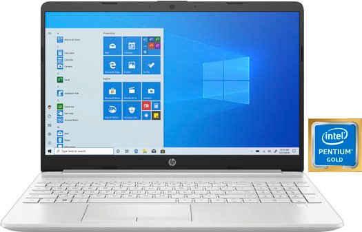 HP 15-dw1224ng Notebook (39,6 cm/15,6 Zoll, Intel Pentium Gold 6405U, HD Graphics, 512 GB SSD, Fingerabrduckleser)