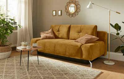 Mr. Couch Schlafsofa »Newton«, 5 Jahre Hersteller-Garantie auf Kaltschaumpolsterung, Inklusive Bettfunktion und Bettkasten, Nachhaltigkeit, Exklusivkollektion