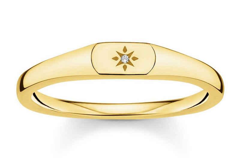 THOMAS SABO Siegelring »Siegelring für goldfarben«