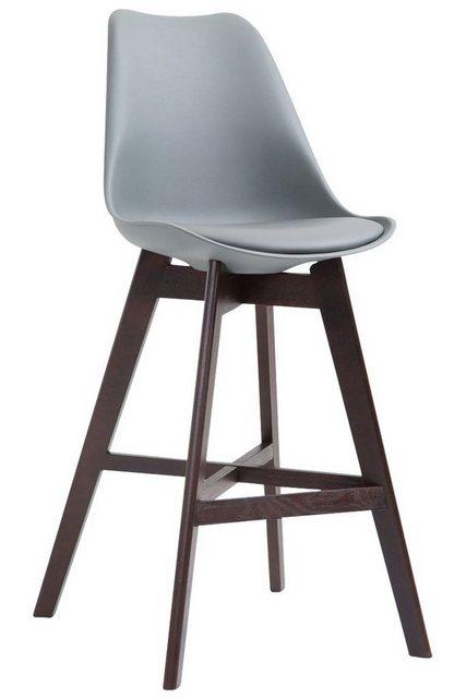 Sessel und Hocker - CLP Barhocker »Cannes Kunststoff«, mit Rückenlehnen und Fußstütze  - Onlineshop OTTO