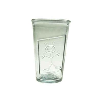 "the way up Glas »6 x Trinkgläser Girl ""Lenni"" 300 CC aus Recycling-Glas (100 % Altglas)«"