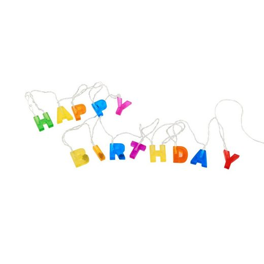 BUTLERS Lichterkette »HAPPY BIRTHDAY«