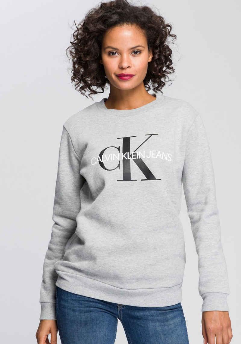Calvin Klein Jeans Sweatshirt mit weich angerauter Innenseite