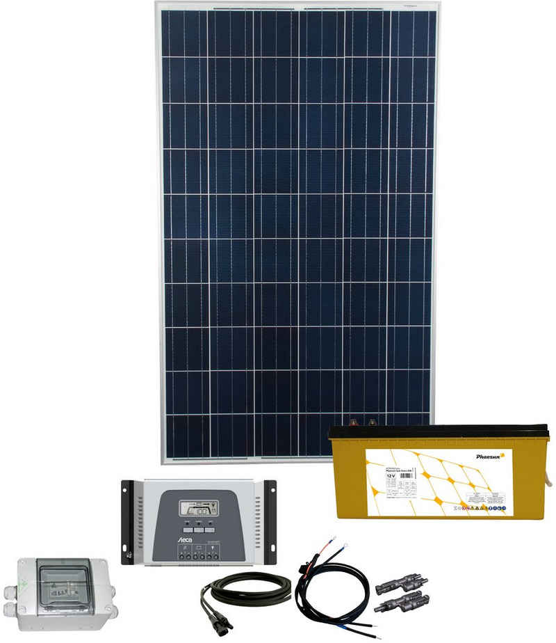Phaesun Solarmodul »Energy Generation Kit Solar Rise«, 270 W, (Set), 270 W