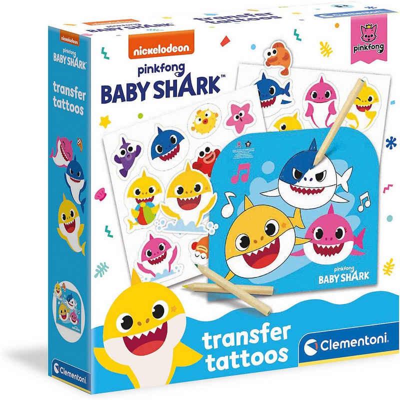 Clementoni® Schmuck-Tattoo »Baby Shark - Tattoos«