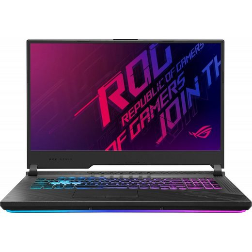 Asus ROG Strix G17 (G712LU-EV111T) Notebook 16GB/512GB SSD/6GB NVIDIA GTX 1660 Ti/Core i7 Gaming-Notebook (43,9 cm/17,3 Zoll, Intel Core i7, GeForce, 512 GB SSD)