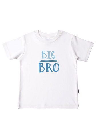 Liliput Marškinėliai »Big Bro« iš ekologiškės ...