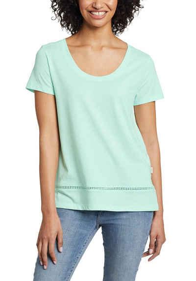 Eddie Bauer T-Shirt Myriad T-Shirt mit Lochspitze