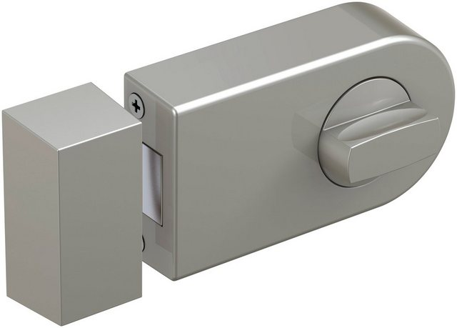 BASI Türzusatzschloss »Dornmaß 70 mm - silber (abgerundet)«, Kastenschloss KS 500