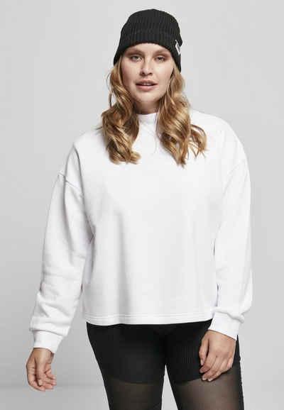 URBAN CLASSICS Sweatshirt »Ladies Oversized High Neck Crew«