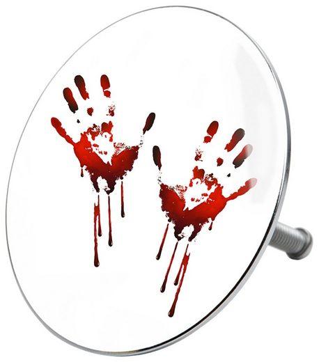 Sanilo Badewannenstöpsel »Blood Hands«, Ø 7,2 cm