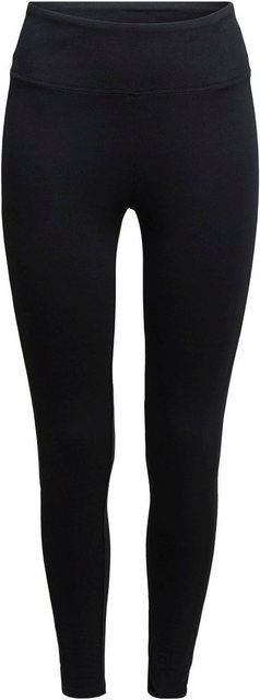 Hosen - esprit sports Leggings mit breitem, elastischem Bund ›  - Onlineshop OTTO