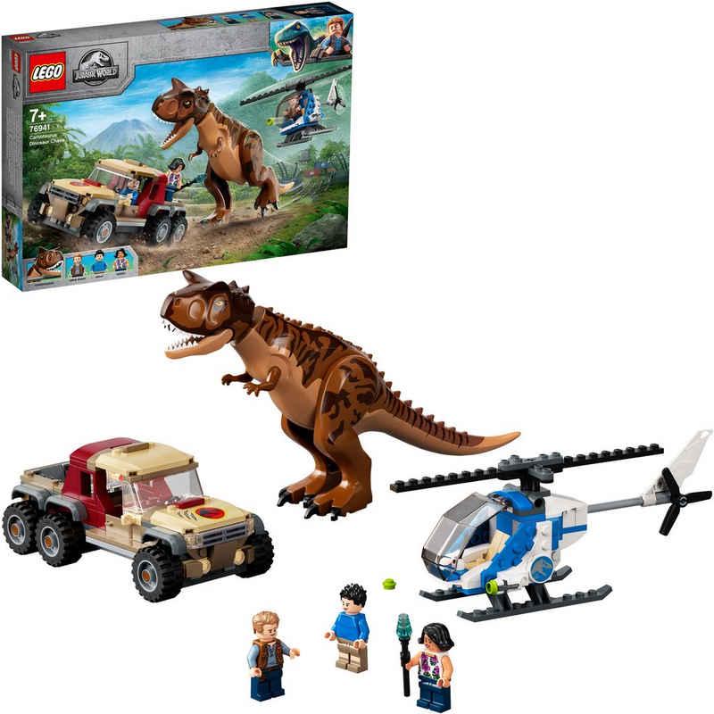 LEGO® Konstruktionsspielsteine »Verfolgung des Carnotaurus (76941), LEGO® Jurassic World™«, (240 St), Made in Europe