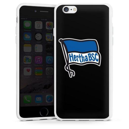 DeinDesign Handyhülle »Hertha BSC schwarz« Apple iPhone 6s, Hülle Hertha BSC Fußball Offizielles Lizenzprodukt