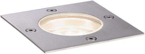 Paulmann LED Einbauleuchte »Outdoor Plug&Shine floor downlight«, IP65 Rostfrei