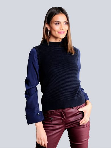 Alba Moda 2-in-1-Pullover in 2-in-1-Optik