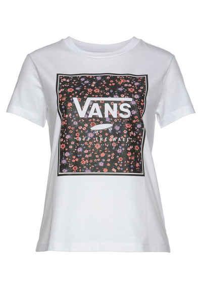 Vans T-Shirt »BOXED IN ROSE CREW«