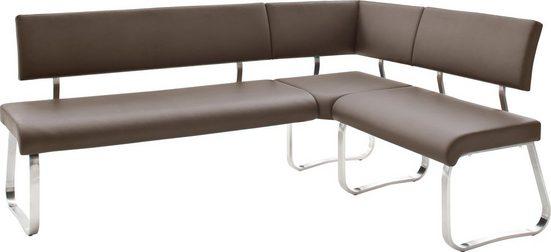 MCA furniture Eckbank »Arco«, Eckbank frei im Raum stellbar, Breite 200 cm, belastbar bis 500 kg