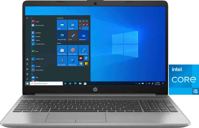 HP 250 G8 Intel Core i5-1135G7 39,6cm 15,6Zoll IPS FHD AG 8GB 512GB/SSD UMA WLAN BT W10H (DE)(P) Notebook (39,6 cm/15,6 Zoll, Intel Core i5 1135G7, Iris Xe Graphics, 512 GB SSD)