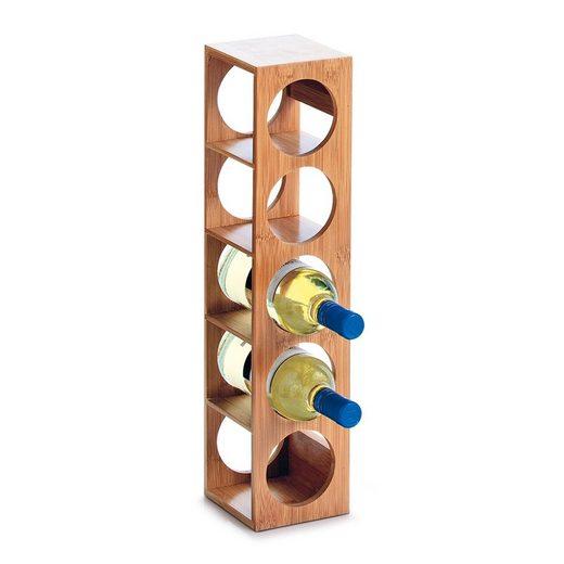 HTI-Living Weinregal »Weinregal für 5 Flaschen Bambus«