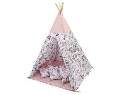 Welt der Träume Spielzelt »Tipi, Kinder Zelt, Spielzelt, Teepee, Kinderzelt, Zelt mit Fenster, Indianerzelt VERSCHIEDENE MUSTER UND FARBEN«