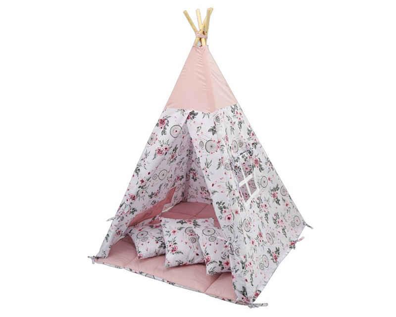Welt der Träume Spielzelt »Tipi, Kinder Zelt, Spielzelt, Teepee, Kinderzelt, Zelt mit Fenster, VERSCHIEDENE MUSTER UND FARBEN«