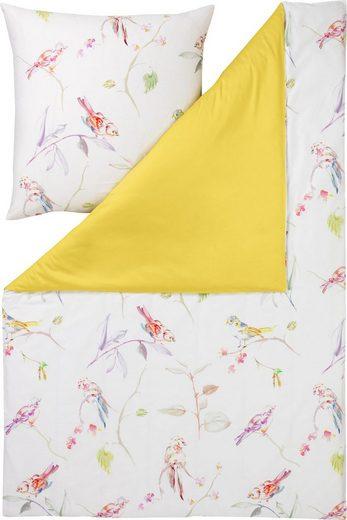 Bettwäsche »SPARROW«, Estella, mit farbenfrohen Vögeln