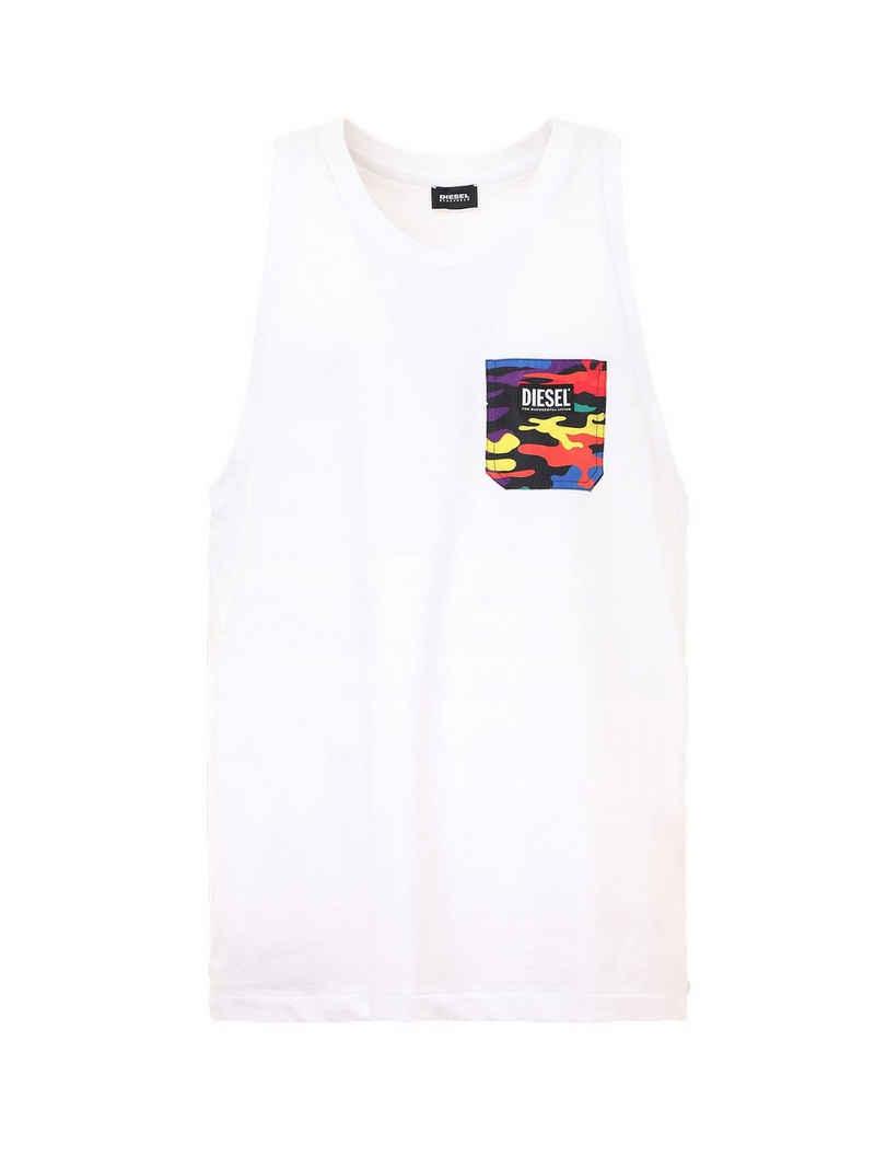 Diesel T-Shirt »Herren Tank Top- Pride Kollektion, Rundhals,«