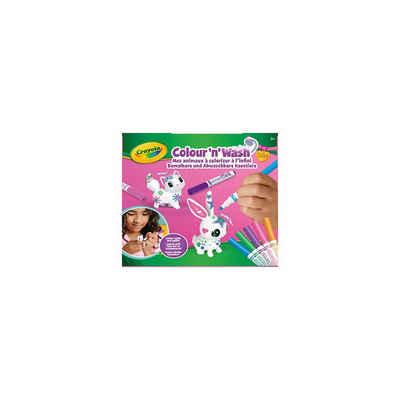 Crayola® Malvorlage »Colour ´N´ Wash - Hase und Katze«