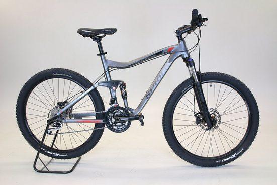 Performance Mountainbike, 27 Gang Shimano DEORE XT SCHWARZ RD-M772 Schaltwerk, Kettenschaltung