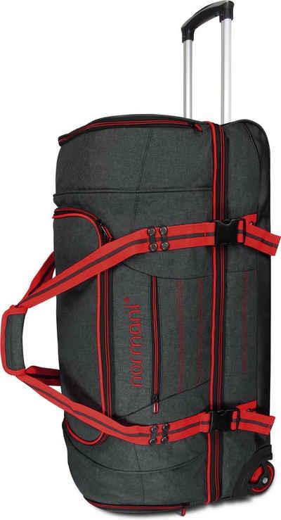 normani Reisetasche »Reisetasche 90 l Kompass 90«, Trolley mit 5 Fächern