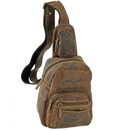 Greenburry Cityrucksack »Vintage«, Leder