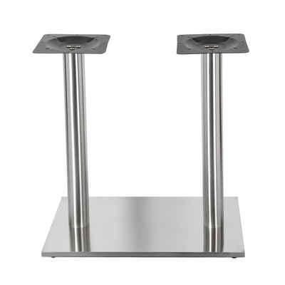 Mucola Möbelfuß »Tischsäule Tischfuß Möbelfuß Tischbein Stützfuß Möbelbein Edelstahl Eckfuß«, (5-St), Kann mit einer Tischplatte Ihrer Wahl (z.B. aus Marmor, Granit, Holz, etc) kombiniert werden