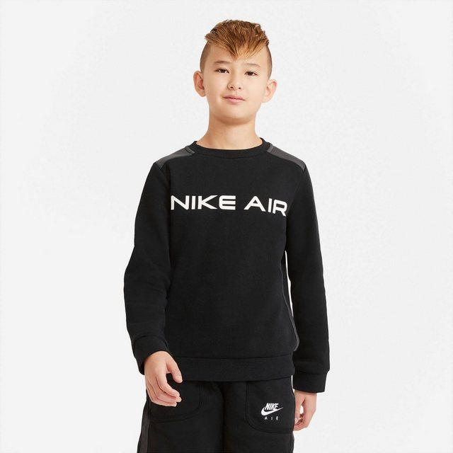 Nike Sportswear Sweatshirt »Nike Air Big Kids' (boys) Crew«