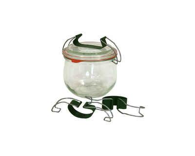 Weck Einmachglas »Universalbügel 10 Stück für Einkochgläser Weckgläser«, Glas, (10-tlg)